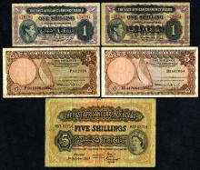 East African Currency Board, 1943-64, Group of 5
