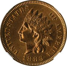 Handsome Red and Brown Uncirculated Indian Cent.