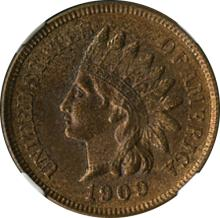 Last Year of Issue Indian Cent.