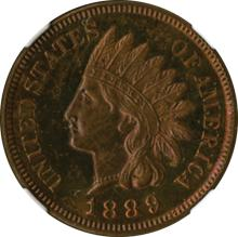 Very Choice Proof Indian Cent.