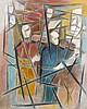 Felicia PACANOWSKA 1915 - 2002 LES VIOLONISTES Huile sur toile, Félicia Pacanowska, Click for value