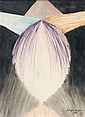 Léopold SURVAGE (Moscou, 1879 - Paris, 1968) RYTHMES COLORES, 1913 Aquarelle sur papier