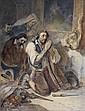 Nicolas-Tousssaint CHARLET Paris, 1792 - 1845 La prière à la Madonne Aquarelle gouachée sur trait de crayon, Nicolas-Toussaint Charlet, Click for value