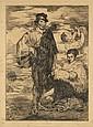 Edouard MANET (1832 - 1883) LE CHANTEUR ESPAGNOL, 1861 - 5ème état