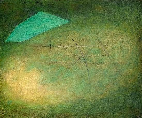 ¤Josef SIMA (1891-1971) SANS TITRE, 1966 Huile sur toile