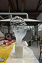 Mathieu LEHANNEUR (né en 1974) globe en verre de la lampe