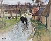 Pierre-Eugène MONTEZIN (1874 - 1946) APRES LA PLUIE Huile sur toile