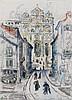 Paul SIGNAC (1863 - 1935) LE PUY - Circa 1927 Aquarelle et crayon sur papier