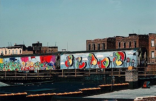 Martha COOPER (née en 1943) SEEN PJAY KEHL & BLADE, 1982/2008 Tirage numérique sur papier photographique Kodac