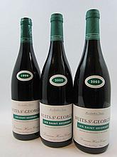 5 bouteilles 1 bt : NUITS SAINT GEORGES 1999 1er cru les Saint Georges. Henri Gouges