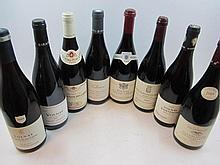 8 bouteilles 1 bt : VOLNAY 2009 Vincent Girardin