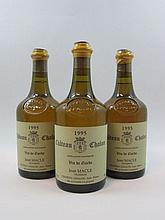 5 bouteilles CHÂTEAU CHALON 1995 Jean Macle