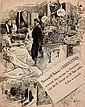 G. Charpentier 4 invitations aux vendredis littéraires de M. et Mme Charpentier Mme Charpentier te...