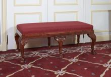 BANQUETTE DE STYLE GEORGE II
