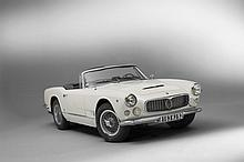 1961 Maserati 3500 GT Spider Vignale avec Hard Top