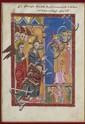 MINIATURE D'UN ÉVANGILE ARMÉNIEN, 17EME SIÈCLE  LE CHRIST ET LES ARCHANGES