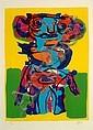 Karel APPEL (1921-2006) PERSONNAGE, circa 1970