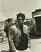 Tony GRYLLA (né en 1941) Jean-Paul Belmondo sur le tournage de