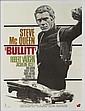 BULLITT, 1968  Affiche française du film avec Steve Mac Queen et Jacqueline Bisset