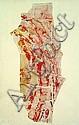 François DUFRENE (1930-1982) LE BOEUF ECORCHE, 1960 Dessous d'affiches collées sur panneau