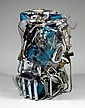 CESAR (1921-1998) HARLEY DAVIDSON, 1979 Compression de moto