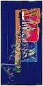 Raymond HAINS (1926-2005) PALISSADE BEAUBOURG, 1976 Affiches lacérées sur palissade en PVC