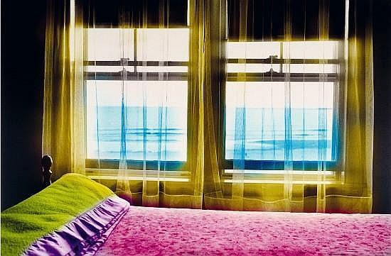Martine ABALLEA Née en 1950 à New york, USA CHAMBRE N°2 ET CHAMBRE N°3, 2002 Photographies numériques contrecollées sur aluminium