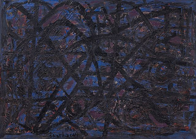 Jilali GHARBAOUI (Jorf El Melha, 1930 - Paris, 1971) Composition