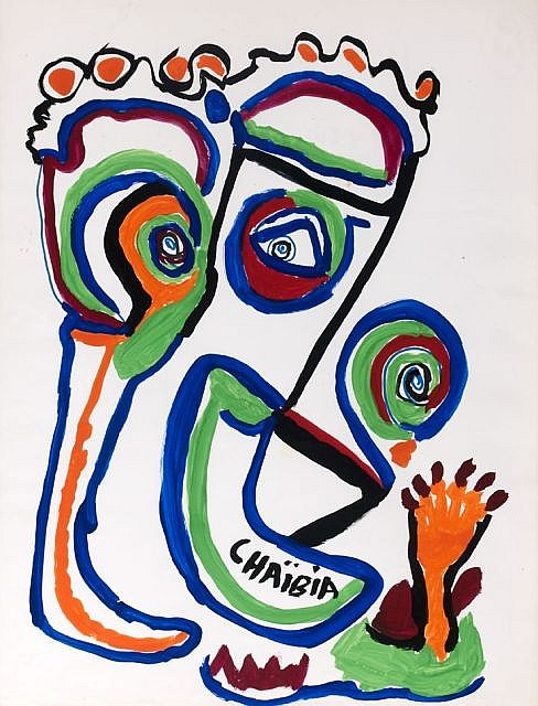 Talal CHAIBIA (Chtouka, 1929 - Casablanca, 2004) Personnage