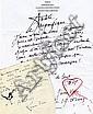 Léonor FINI - P. Y. TREMOIS  Lettres à Parinaud