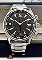 JAEGER-LECOULTRE MEMOVOX POLARIS Rèf : E859 vers 1970. Rare et superbe montre bracelet réveil de plongée en acier. Boitier rond. L...
