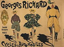 Fernand FERNEL (1872- 1934)  Georges Richard - Cycles et Automobiles