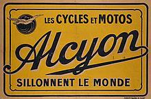 ANONYME  Les cycles et motos Alcyon sillonnent le monde