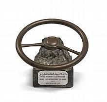 TROPHEE  Grand Prix International du Maroc 1957, remporté par Jean Behra