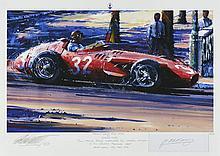 Nicholas Watts (Né en 1947)  Monaco Grand Prix 1957