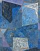 Alexandre ISTRATI (1915-1991) COMPOSITION BLEUE - 1951 Huile sur toile