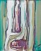 Philippe HOSIASSON (1898- 1978) SANS TITRE - 1971 Huile sur toile