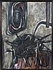 Ruth FRANCKEN (né en 1924) GREGOIRE SAMSA - 1956 Acrylique sur toile