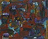 Alexandre ISTRATI (1915-1991) SANS TITRE - 1954 Huile sur toile