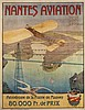 AFFICHE NANTES AVIATION 1910