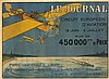 LE JOURNAL CIRCUIT EUROPEEN D'AVIATION 1911