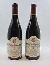 2 bouteilles CHARMES CHAMBERTIN 1997 Grand Cru