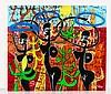 Kokian - Galerie Caplain-Matignon  « WHITE MAN BEHIND » (Hommage à KEITH HARING)