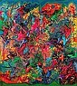 John Perello dit JONONE (né en 1963) BALLE DE MATCH, HOPITAL EPHEMERE, 1993 Bombe aérosol et acrylique sur toile, John Perello, Click for value