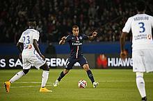 LUCAS' SHIRT  PARIS SAINT-GERMAIN / OLYMPIQUE DE MARSEILLE - 09/11/2014 Victory of Paris Saint-Germain 2 - 0
