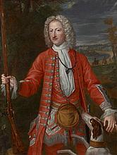 Ecole française du XVIIIe siècle  Portrait présumé de Nicolas-François de Housse, major du régiment de Stainville Huile sur toile (T...