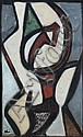 Jean-Michel ATLAN (1913-1960) SANS TITRE, 1957 Huile sur toile, Jean-Michel Atlan, Click for value