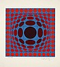 Victor VASARELY (1906 - 1997) 3 ESTAMPES CINETIQUES