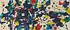 Sam FRANCIS (1923-1994) SANS TITRE, 1980 Acrylique sur papier