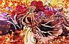 James ROSENQUIST (né en 1933) PEARLS BEFORE SWINE, FLOWERS BEFORE FLAMES, (Dyptique), 1991 Acrylique sur toiles montées sur panneau